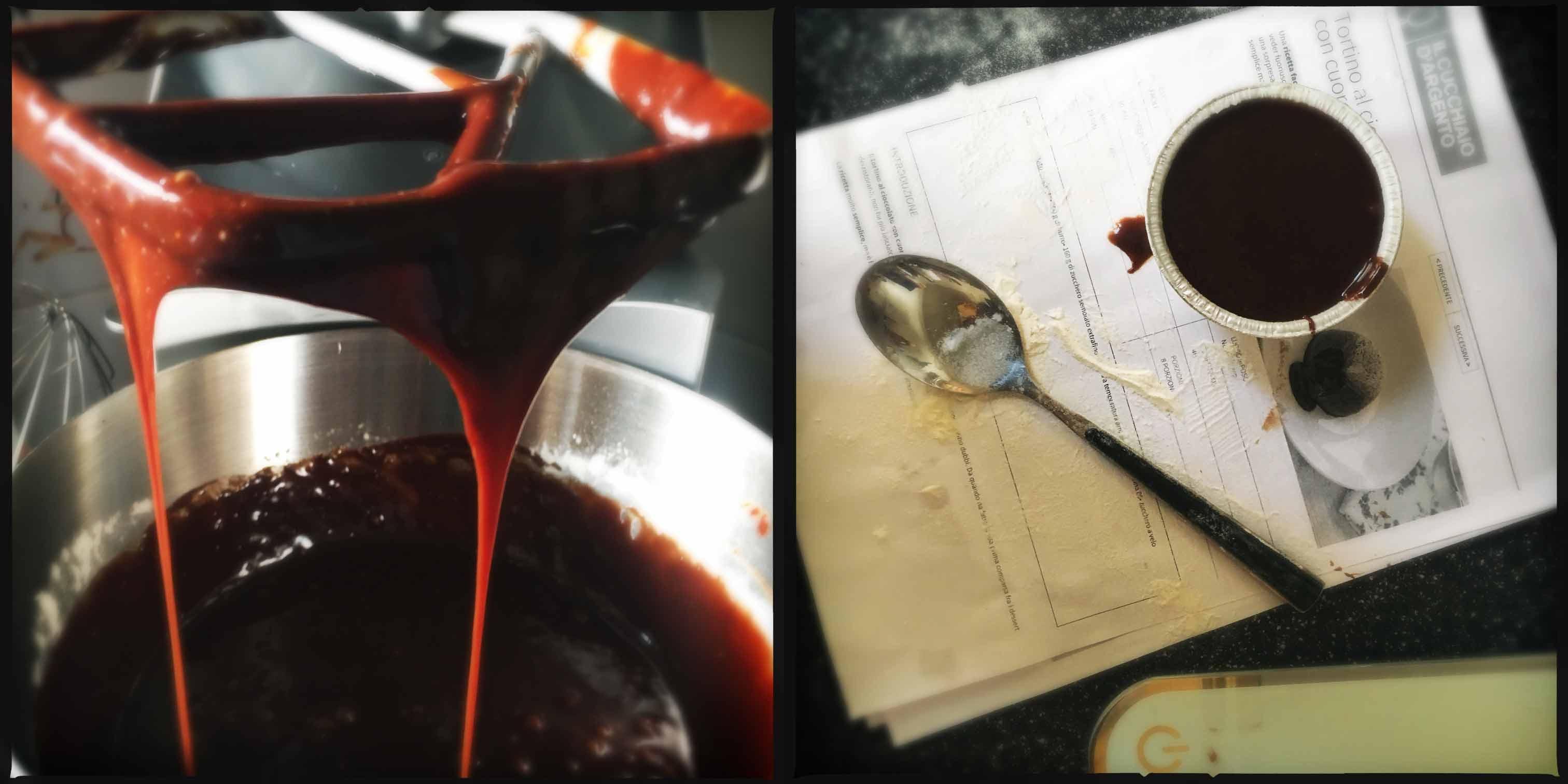 Tortino al cioccolato con il cuorecaldo