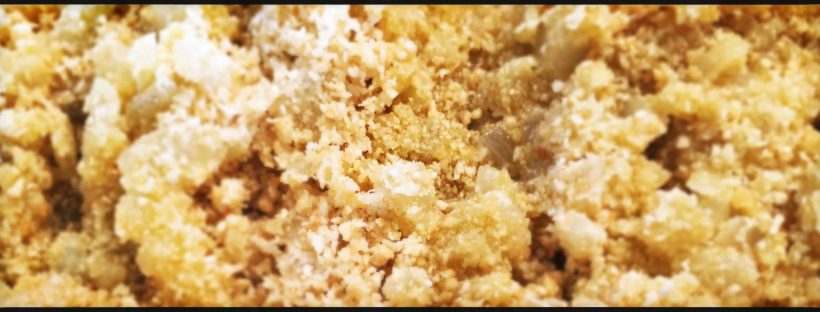 Spiedini di carne gratinati con salsiccia