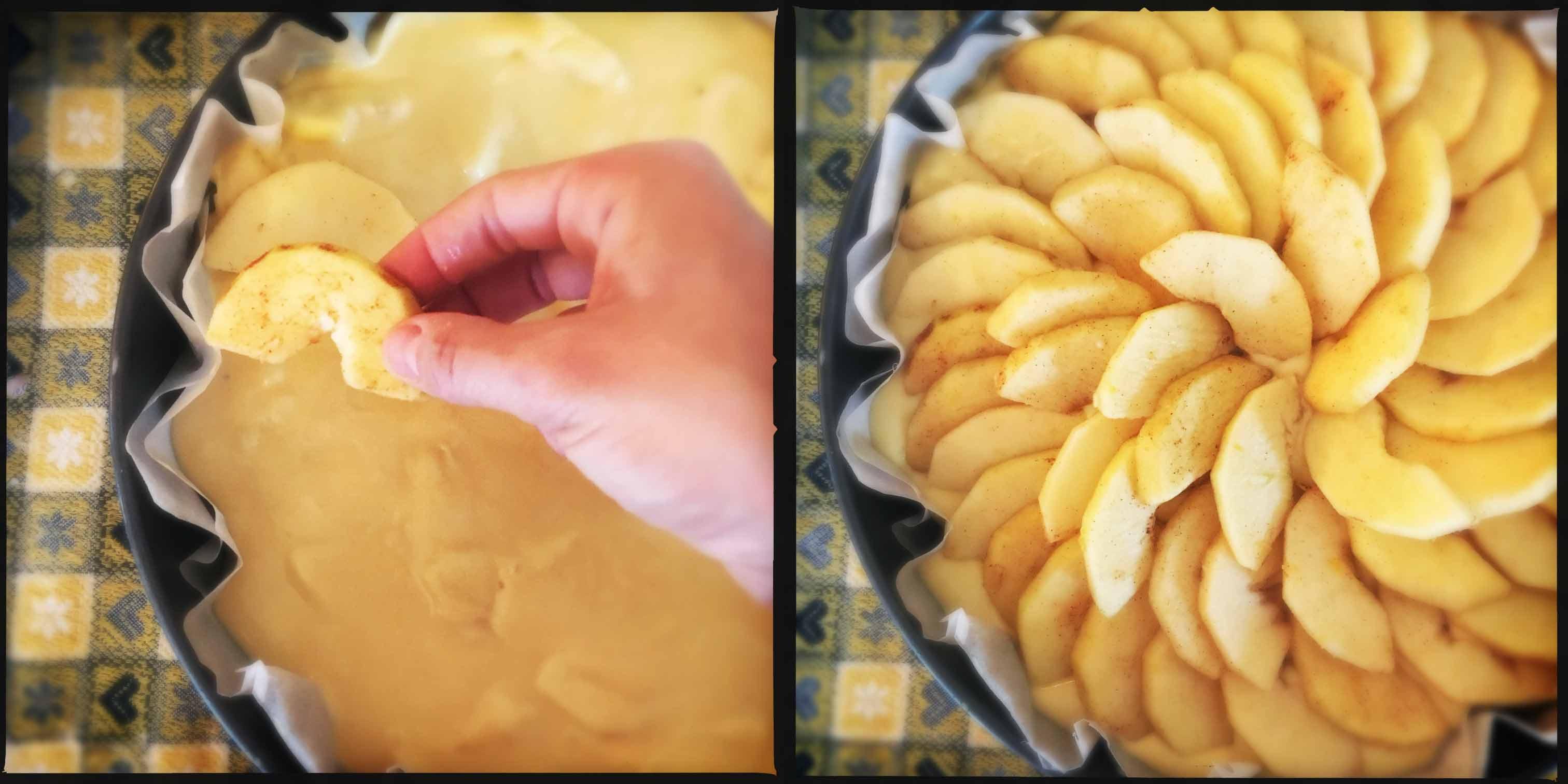 torta di mele di casa klugmann