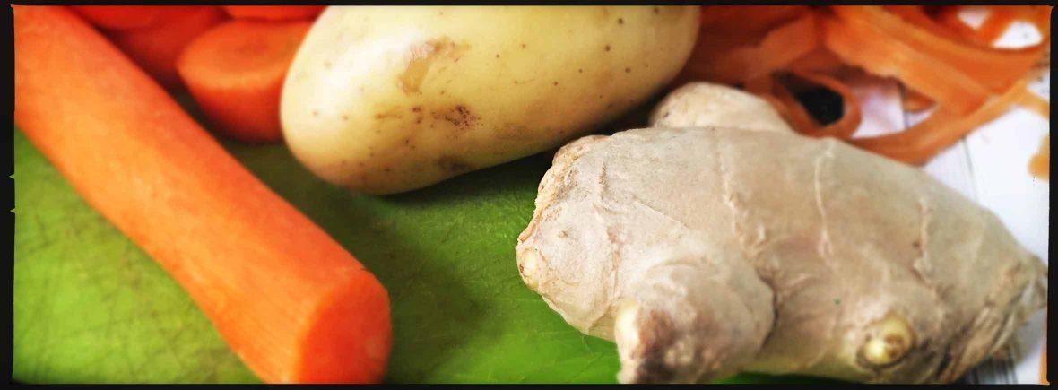 Vellutata carote e zenzero