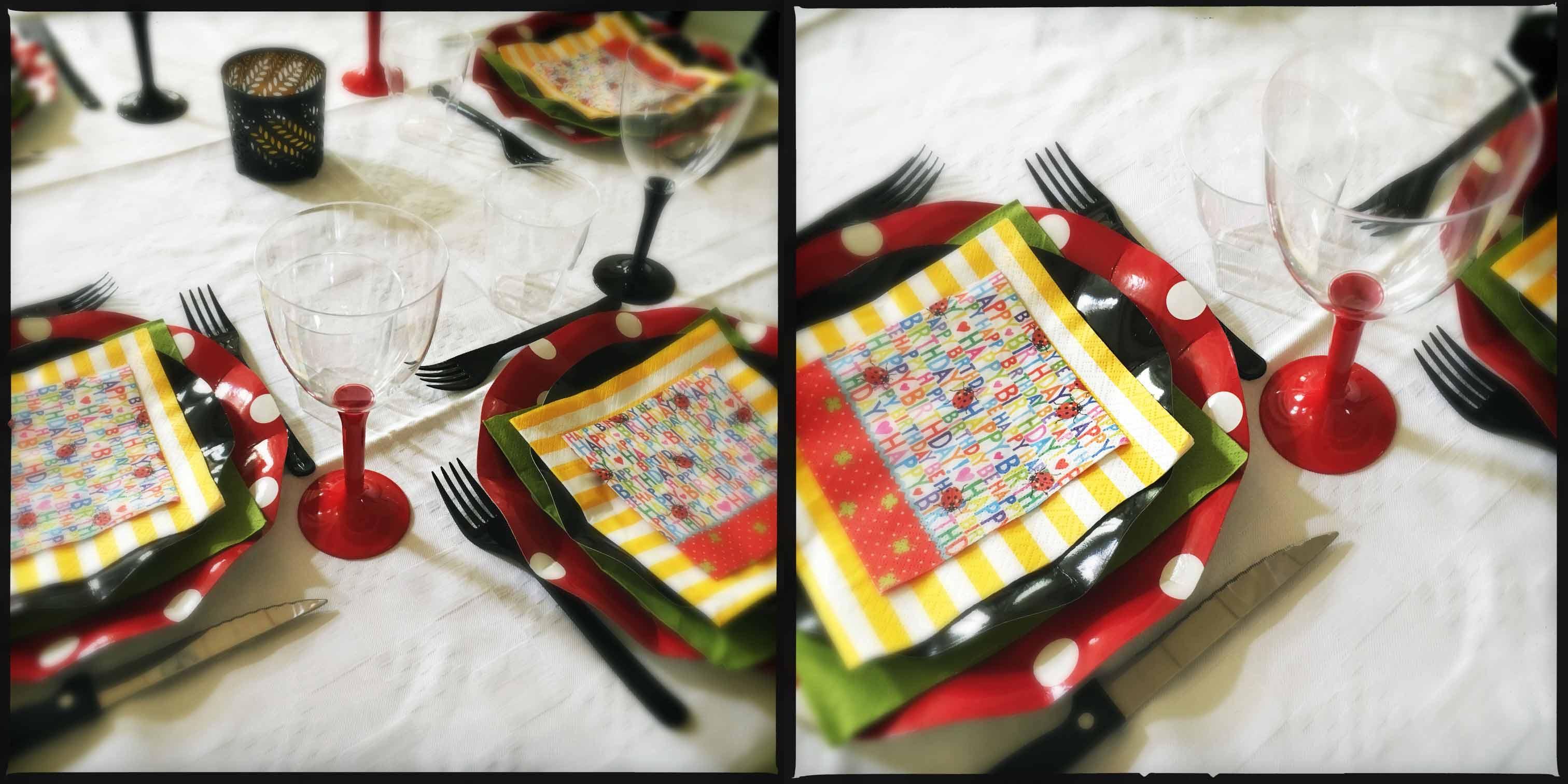 tavola di compleanno