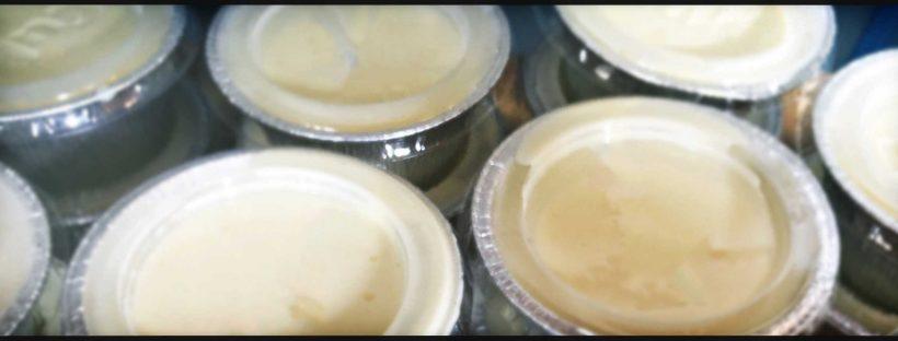 Semifreddo al Sambuco con Salsa al cioccolato bianco