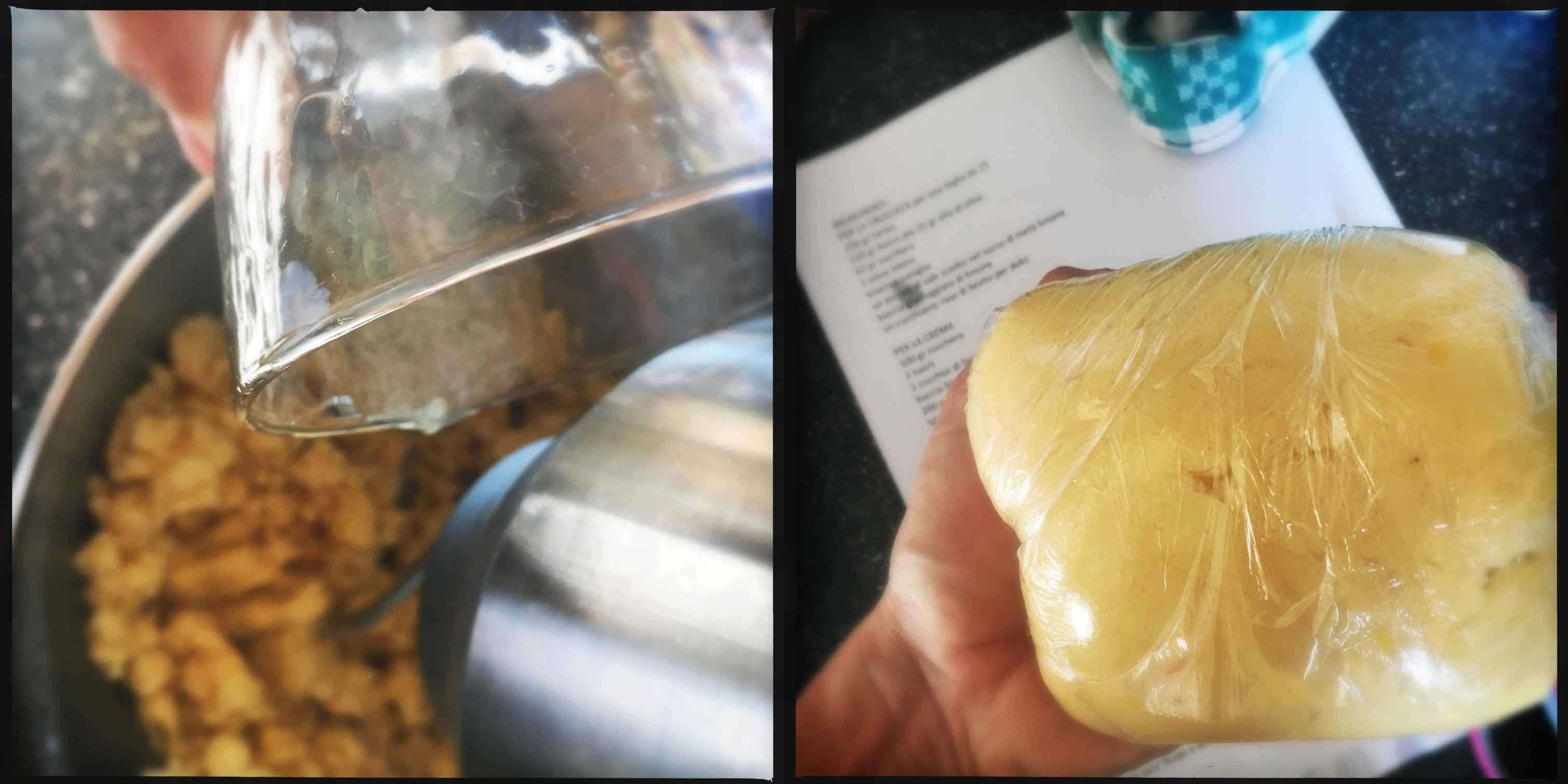 crostata pasta biscotto