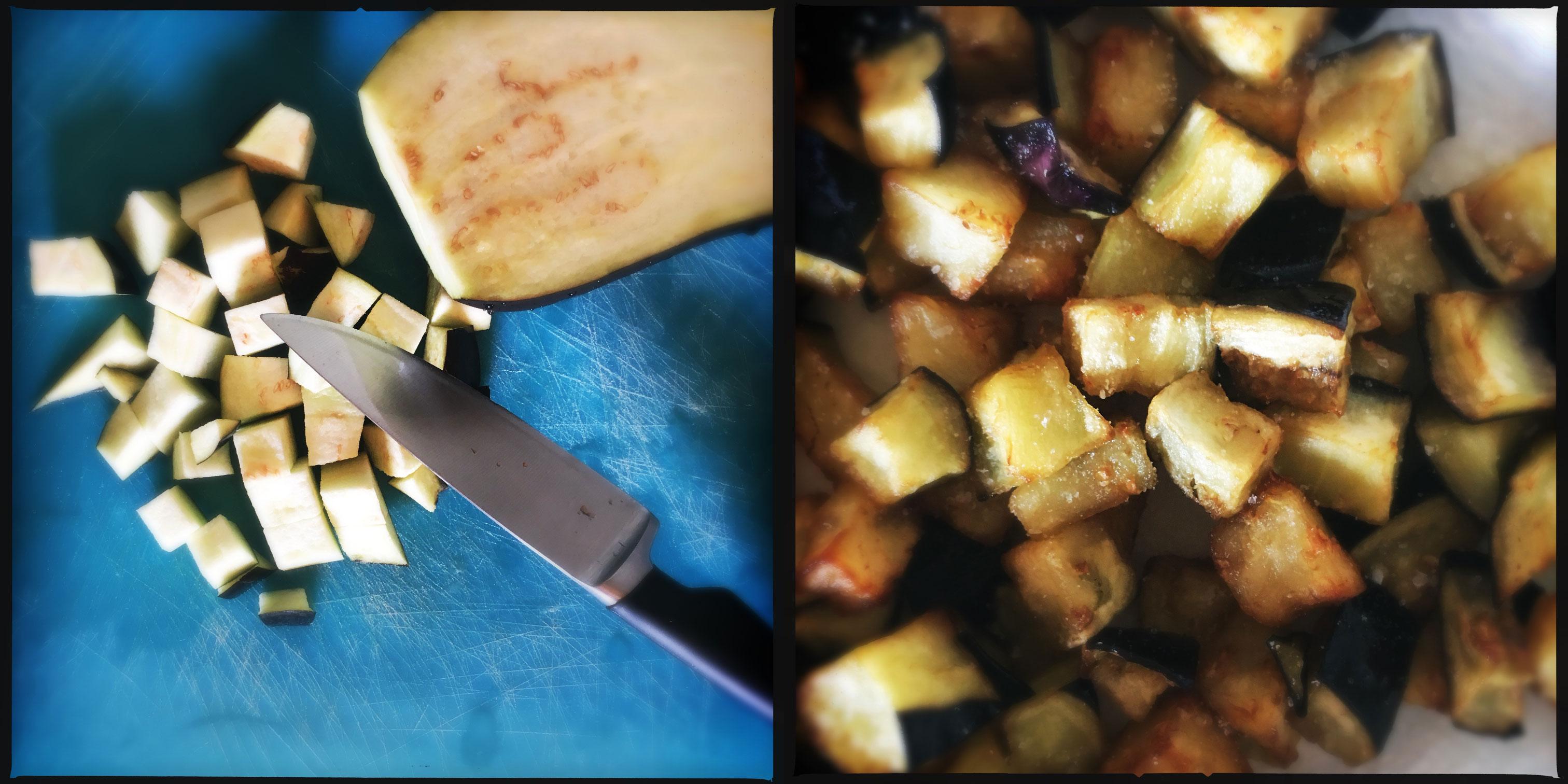 pasta melanzane mozzarella bufala