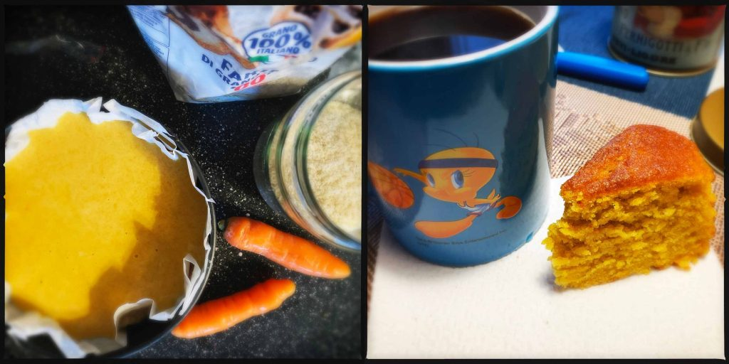 torta camilla alle carote