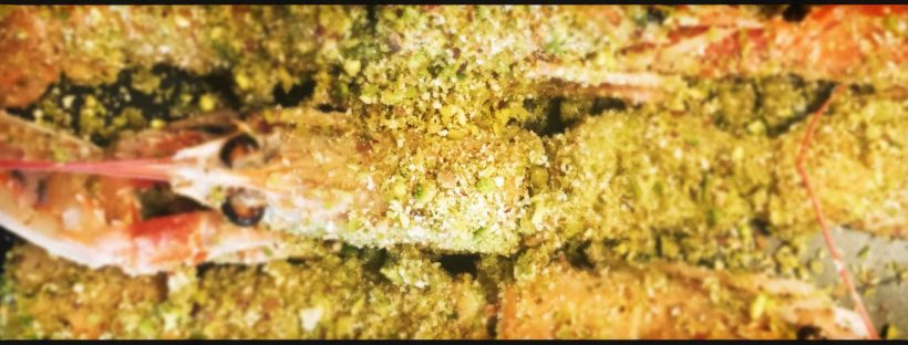 scampi pistacchi